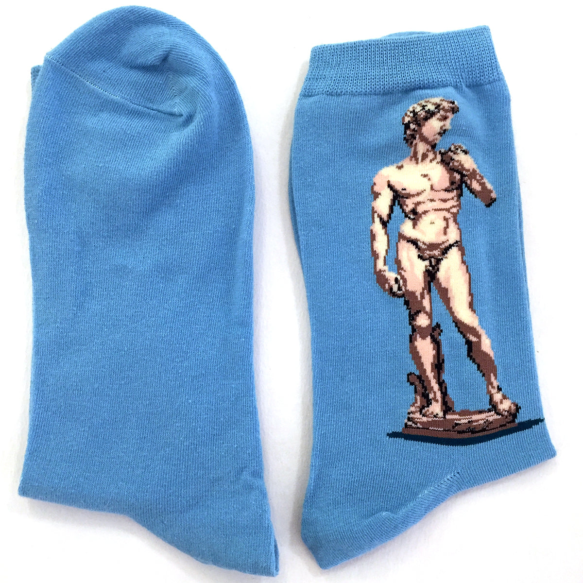 Socks - Statue of David