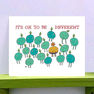 Print - It's OK to be Different