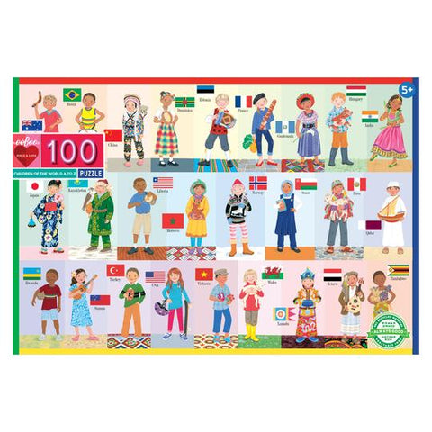 100 piece puzzle - Children of the World