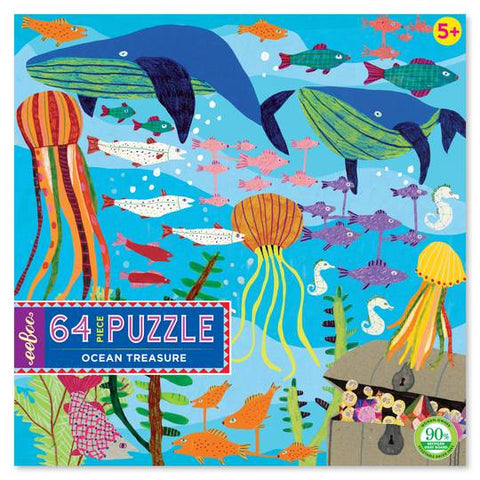 64 piece puzzle - Ocean Treasure