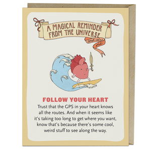 Card - Follow Your Heart