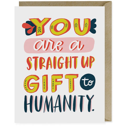 Card - Gift to Humanity