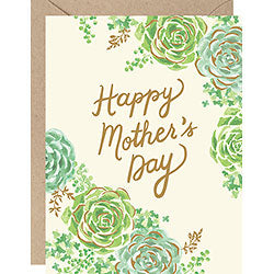 Mother's Day - Green Flowers