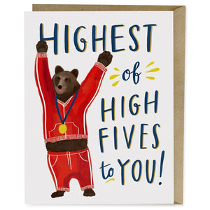 Card - Highest of Fives