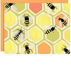 Boxed Notecards - Honey Bees