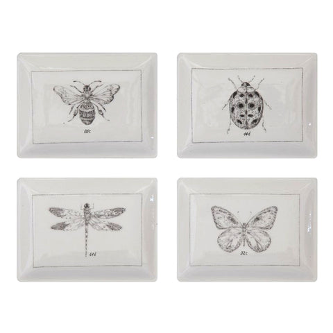 Stoneware Dishes - Insects