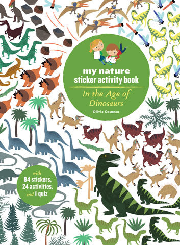 Sticker Activity Book - In the Age of the Dinosaurs