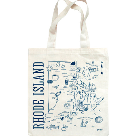 Tote Bag - RI Map