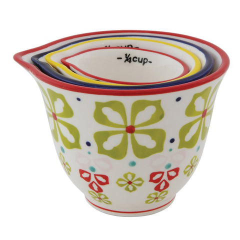 Measuring Cups - Floral
