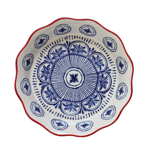 Pie Dish - Blue