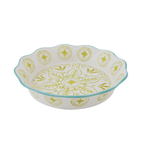 Pie Dish - Green