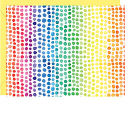 Boxed Notecards - Rainbow Watercolor Dots