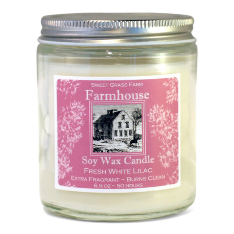 Candle Jar - White Lilac
