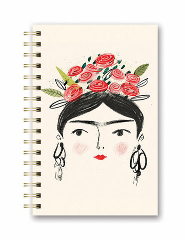 Spiral Journal - Woman with Flower Crown