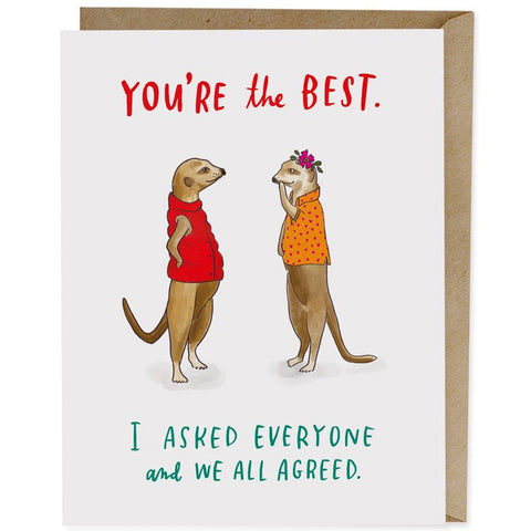 Card - You're The Best, All Agreed