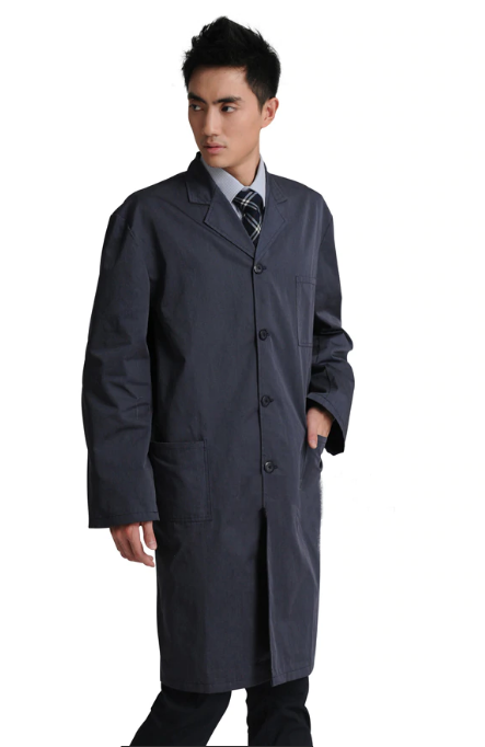 EMF Protective COAT WIFI Electromagnetic Radiation Cell Towers shielding  work lab jacket
