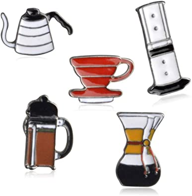 Coffee Lover Pin Set (5 Pcs)