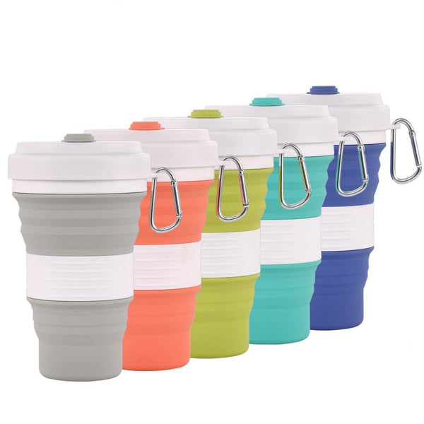 Folding Silicone Travel Cup