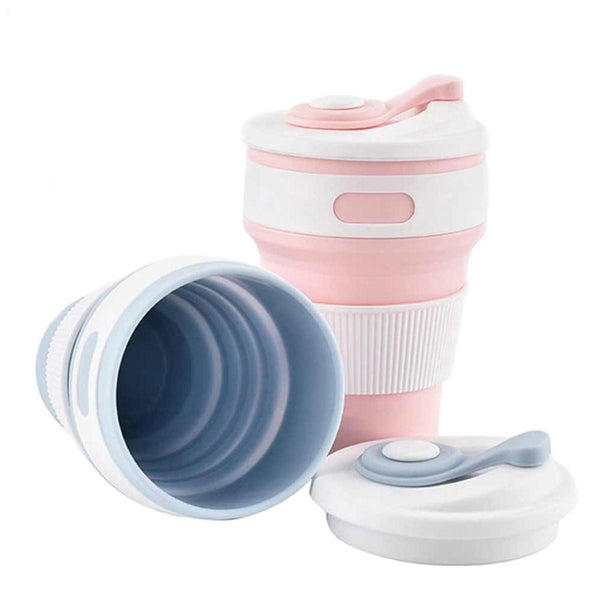 Folding Silicone Portable Cup (350ml)