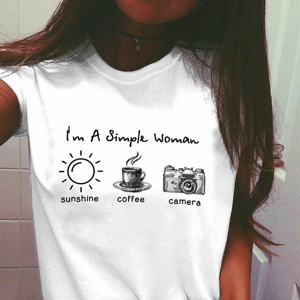 Sunshine Coffee and Camera T-shirt