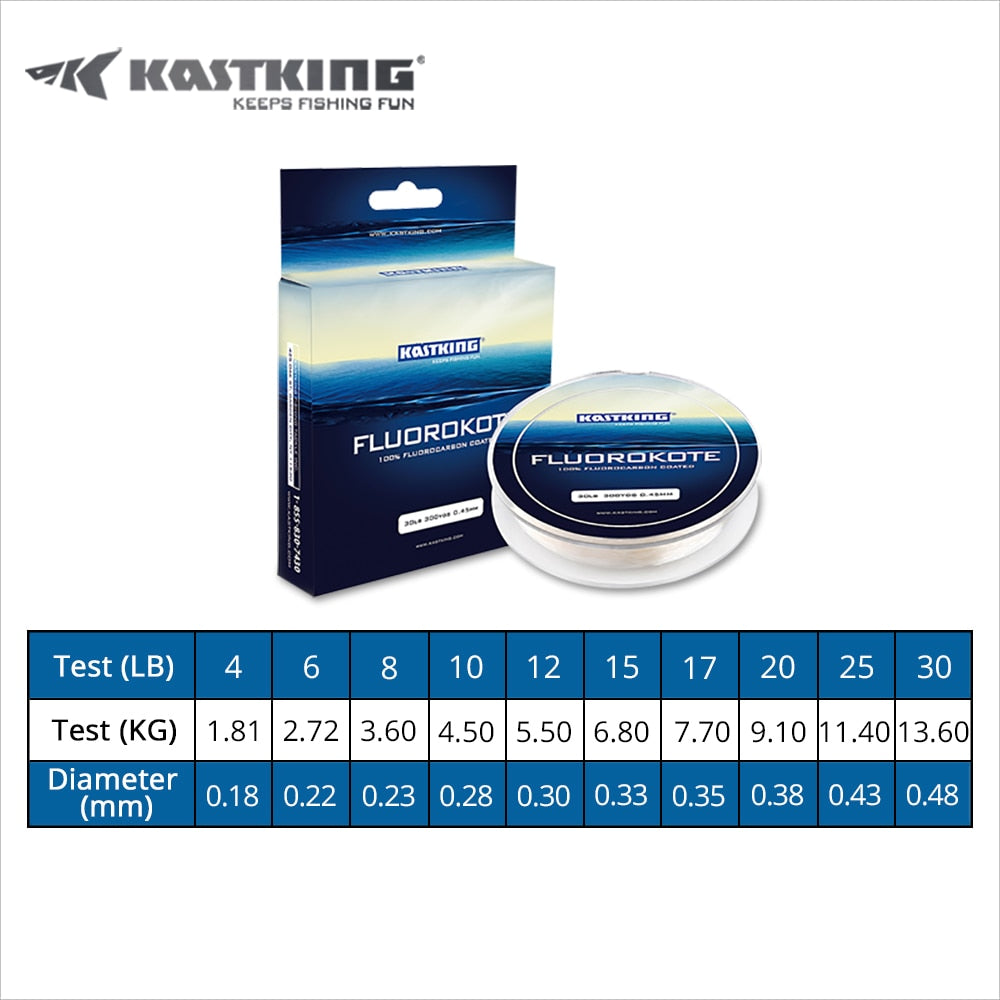 Fluorocarbone 274m KastKing 0.18-0.48mm