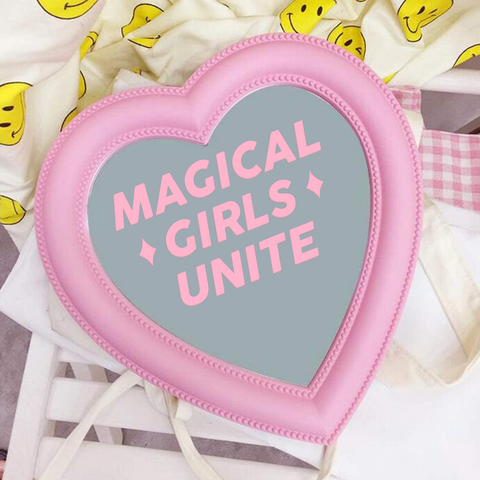 Magical Girls Unite Vinyl Decal