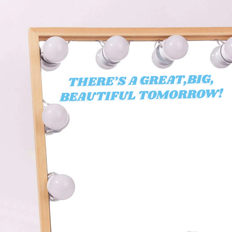 Big Beautiful Tomorrow Vinyl Decal