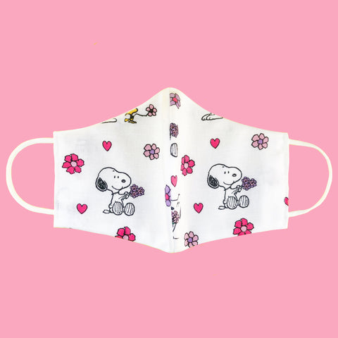 Sweetheart Snoopy Cotton Face Mask