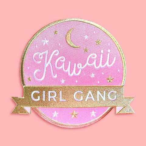 Kawaii Girl Gang Jumbo Back Patch