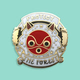 Protect The Forest Enamel Pin
