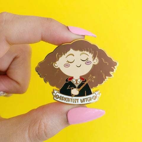 Brightest Witch Enamel Pin