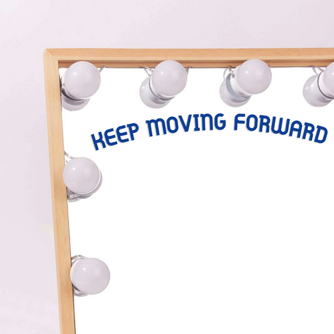 Keep Moving Forward Vinyl Decal