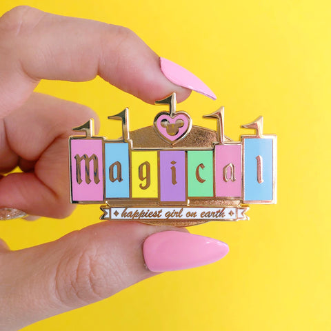 Magical Marquee Enamel Pin