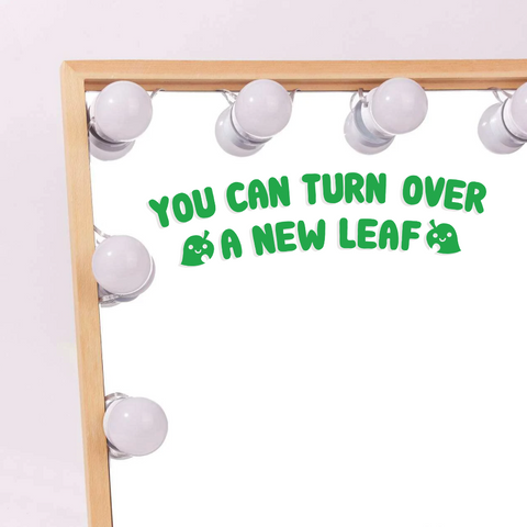 A New Leaf Vinyl Decal