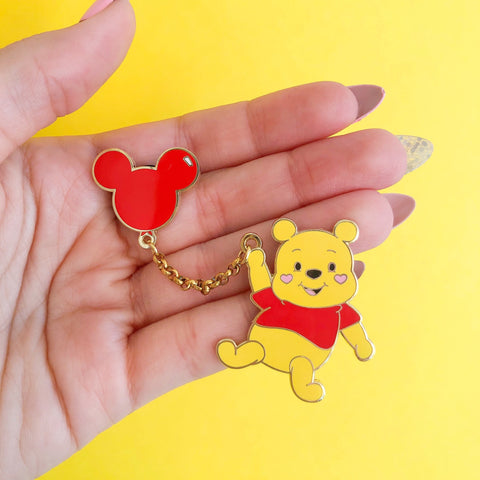 Oh Bother Enamel Pin