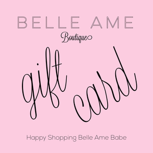 Belle Ame giftcard
