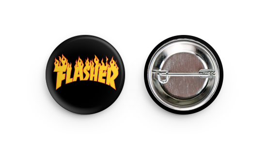 'Flasher' Button