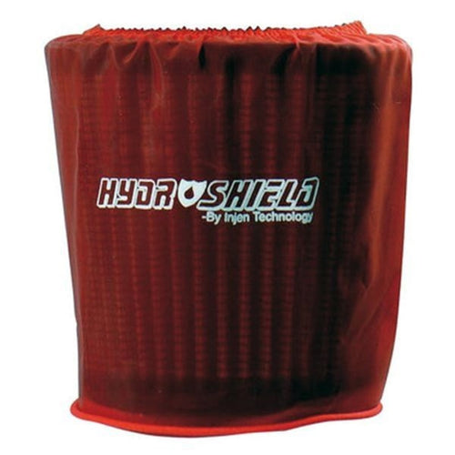 Injen Red Water Repellant Pre-Filter fits X-1010 X-1011 X-1017 X-1020 5in Base/5in Tall/4in Top