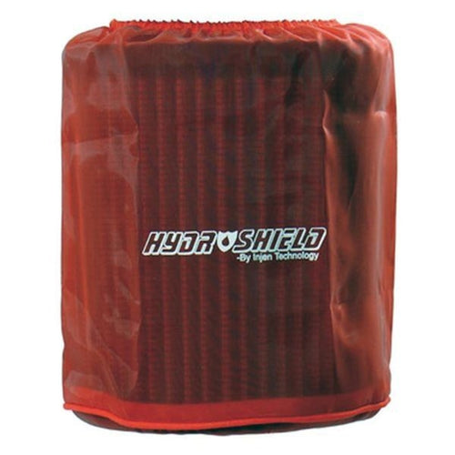 Injen Red Water Repellant Pre-Filter fits X-1021 6in Base / 6-7/8in Tall / 5-1/2in Top