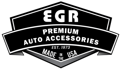 EGR 09+ Dodge F/S Pickup Crew Cab Tape-On Window Visors - Set of 4 (642751)