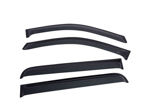 EGR 14+ Chev Silverado Crew Cab Tape-On Window Visors - Set of 4 (641771)