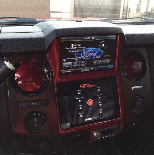 Retro Customz 2013-2016 F250/350/450 Ipad In-Dash Kit