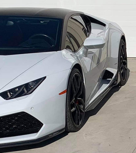 Vorsteiner Styled Carbon Fiber Side Skirts for Lamborghini Huracan LP610-4 / LP580-2