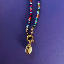 Load image into Gallery viewer, ANOUCK Beaded Cowrie Necklace