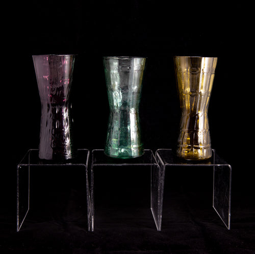 ISLA Glass Vase Trio by Alsterfors Vintage