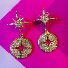 Load image into Gallery viewer, EMMA Statement Star Earrings