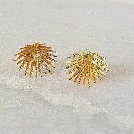 SOPHIA Palm Stud Earrings
