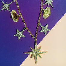Load image into Gallery viewer, STEPHANIE Celestial Statement Necklace