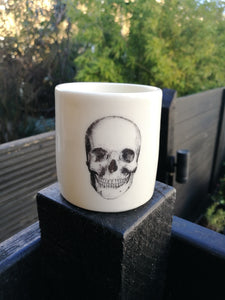 SCARLETT Skull Drawn Scented Candle