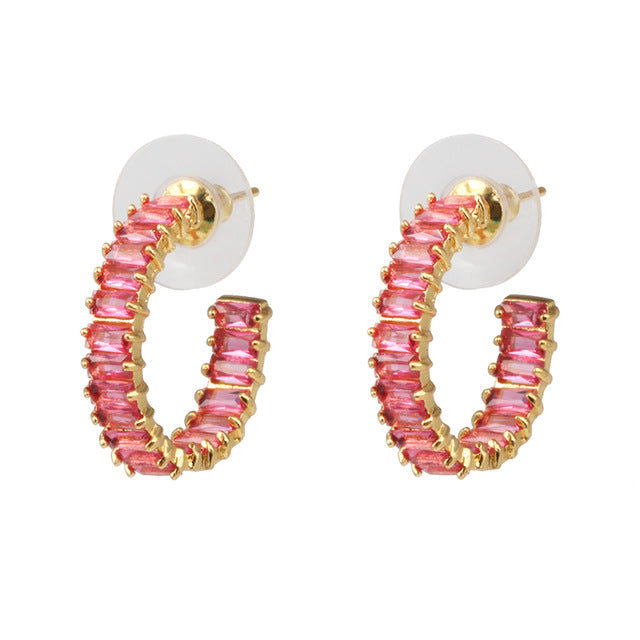 PINK LOVELY EARRING